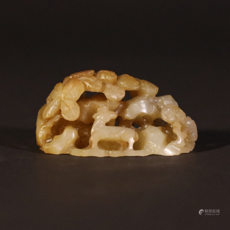 Liao Dynasty            Gold and jade
