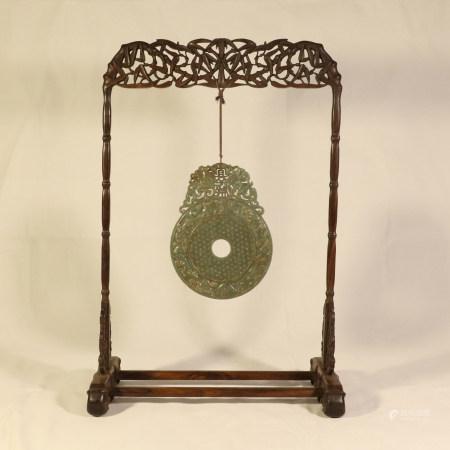 Huanghua pear jade ornament
