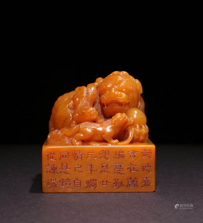 A CHINESE TIANHUANG STONE SEAL