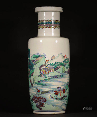 A CHINESE VINTAGE VASE