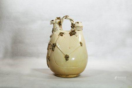 A Dingyao Porcelain Pot