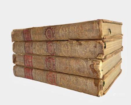 Four Antique Books, 1779