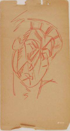 Pablo Picasso (1881-1973) Cubist Drawing
