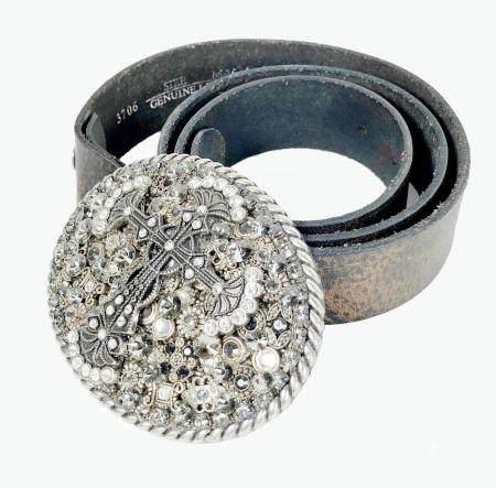 Belt With Buckle By Vintage Wear