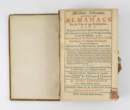 1771 London Almanac