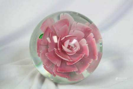 French Paperweight, 20th Century