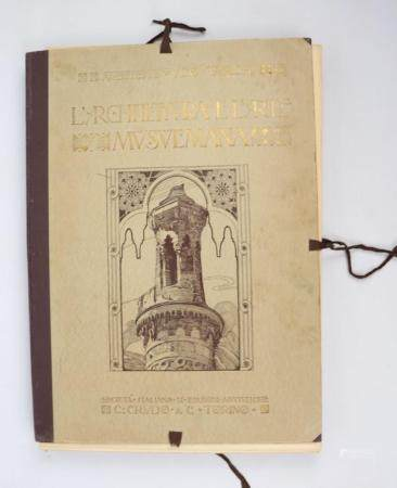 Ugo TARCHI, L'Architettura e l'Arte Musulmana in Egitto e nella Palestina, (Edition Originale)