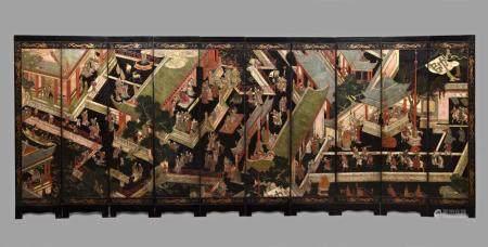 CHINE, PÉRIODE KANGXI (1661-1722) DATÉ DE L'ANNÉE 1687 (ANNÉ