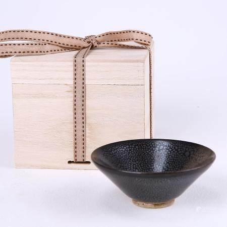 Dangyangyu kiln black glaze oil dripping lamp