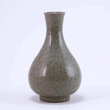 Official kiln grey celadon net bottle