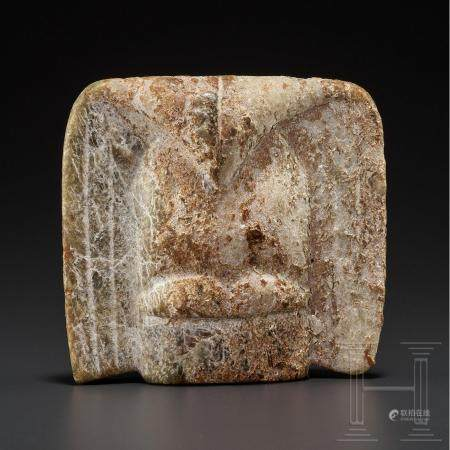 A Chinese Late Neolithic jade carving of a bird, Hongshan culture, 4700 2900 B.C.