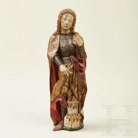 A South German sculpture of St Florian, 2nd half of the 15th century