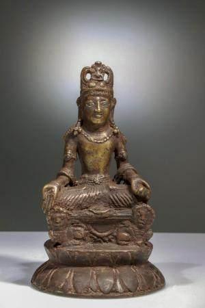SITTING BUDDHA MAITREYA