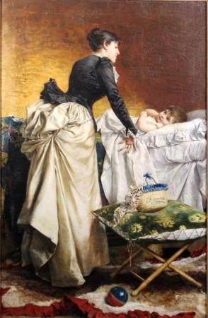 Anonymous 19c. Italian Oil on Canvas