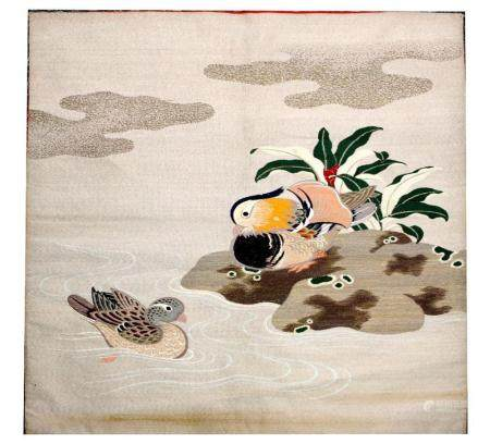Japanese Embroidered Fukusa