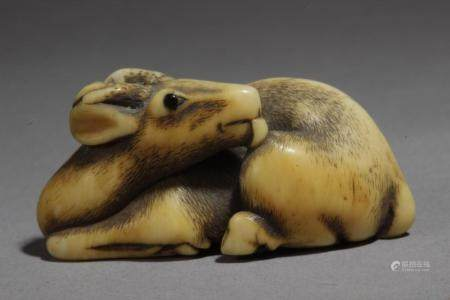 An early 19th century Japanese netsuke from Meiji period
