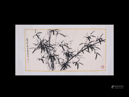 Chinese Scroll Painting Dong Shouping-Mo Zhu