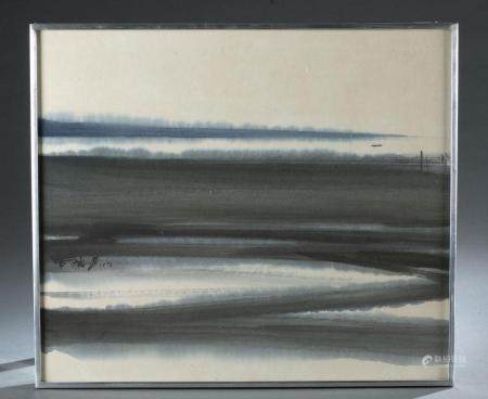 JAPANESE ABSTRACT PAINTING, 1972.