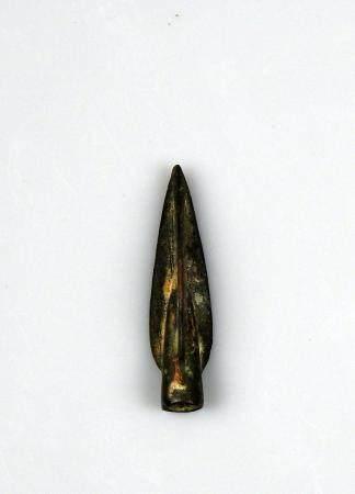 Pointe de flèche à douille et ailerons Bronze 3,8 cm Période antique