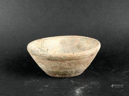Bol en céramique grise Terre cuite 10,5 cm Période romaine