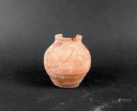 Vase de forme tronconique Terre cuite 7 cm Période romaine