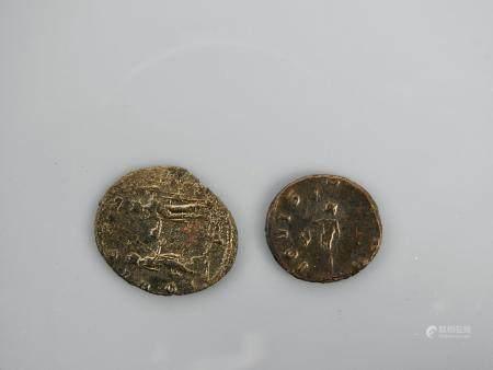 Monnaies diverses.