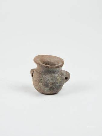 Petit vase miniature Terre cuite 4 cm Amérique Précolombienne