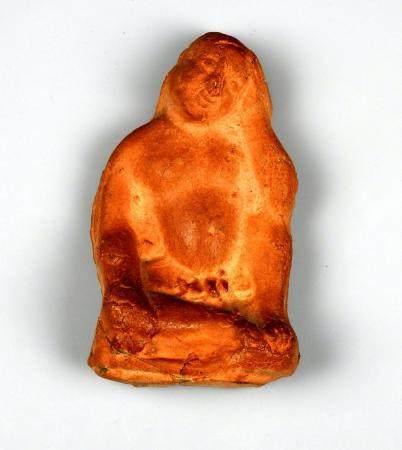 Figurine en relief représentant Harpocrate Terre cuite 10 cm Epoque hellénistique