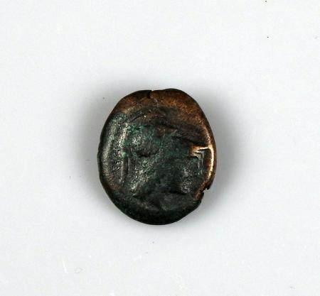 ATTIQUE ATHENES Chalque, Zeus lançant la foudre Monnaie grecque