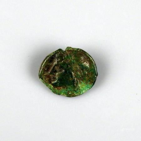 BRUTTIUM Bronze au trepied Monnaie grecque