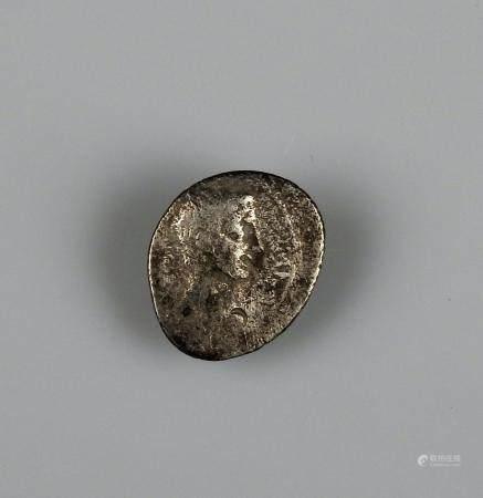 AUGUSTE Quinaire en argent à la légende ASIA RECEPTA Monnaie romaine