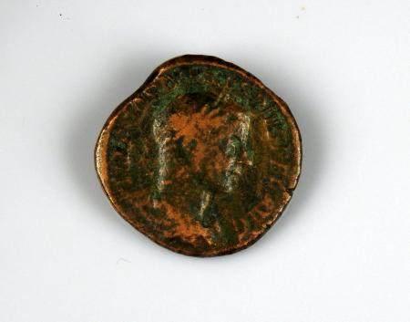 GORDIEN III Sesterce de bronze à la légende IMP GORDIANUS PIUS FEL AVG et MARTEM PROPVGNATOREM