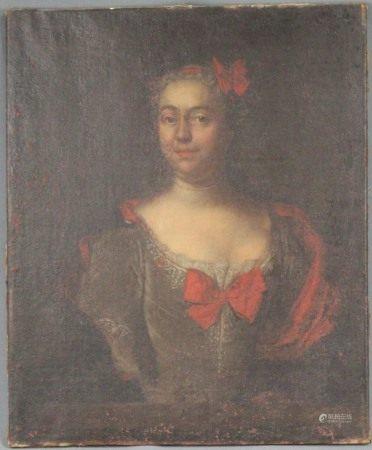 Gottfried BOY (Attrib.) (1701 - 1755). Ann - Cath. - Hombergh.