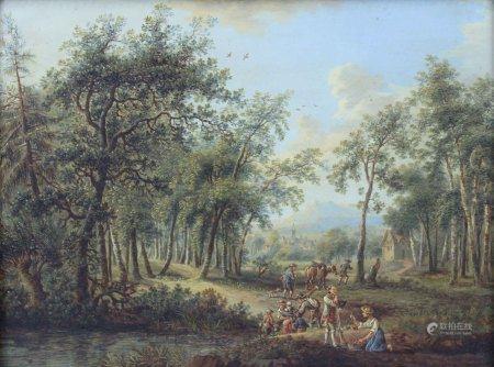 Franz HOCHECKER (1730 - 1782). Allegorie des Herbstes.
