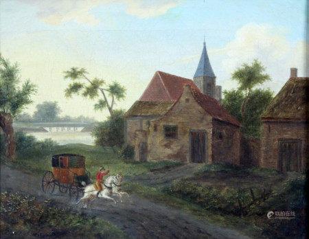 Jacques François Joseph SWEBACH (1769 - 1823). Kutsche.