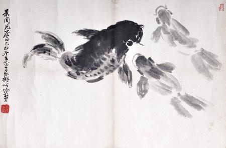 陳永鏘 三魚圖