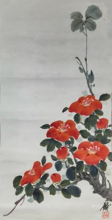 胡卓麟 花卉