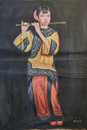 陳逸樂 油畫人物