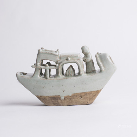 Chinese Qingbai Porcelain Boat Water Dropper