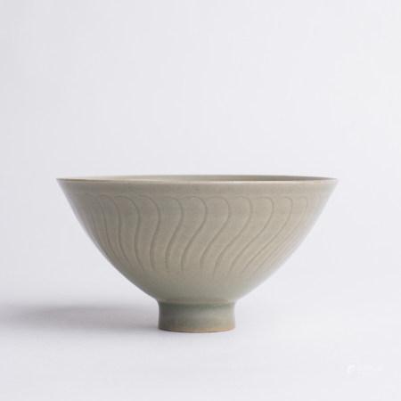Chinese Yaozhou Celadon Porcelain Boys Bowl