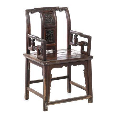 Chinese Hongmu armchair, Minguo
