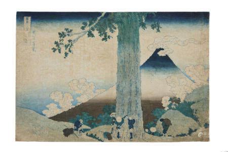 KATSUHISKA HOKUSAI (1760-1849) Edo period (1615-1868), 1830-1831