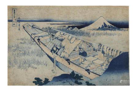 KATSUSHIKA HOKUSAI (1760-1849)  Edo period (1615-1868), 1830-1831