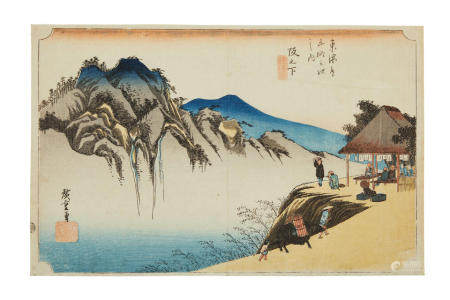 Utagawa Hiroshige (1797-1858) Edo period (1615-1868), 1833-1834