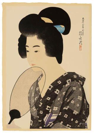ITO SHINSUI (1898-1972)  Taisho era (1912-1926), 1924