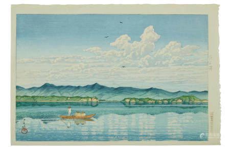 KAWASE HASUI (1883-1957)  Showa era (1926-1989), 1931