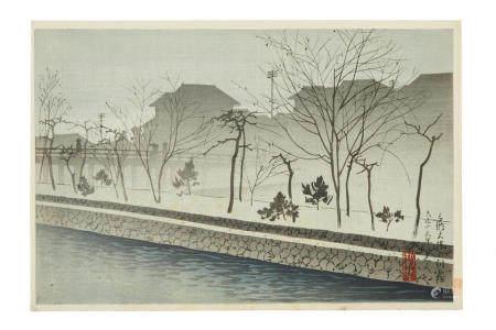 YOSHIKAWA KANPO (1894-1979) AND TOKURIKI TOMIKICHIRO (1902-2000) Taisho (1912-1926) to Showa (1926-1989) eras
