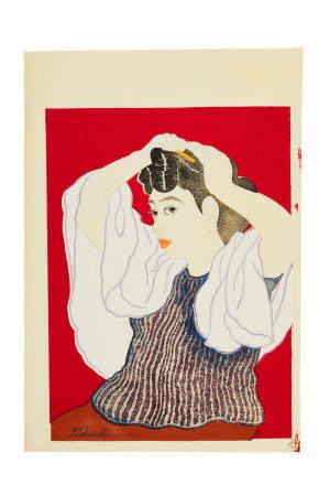 TOKURIKI TOMIKICHIRO(1902-2000)  Showa era (1926-1989)