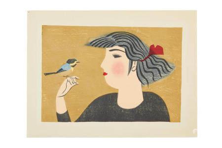 MAEKAWA SENPAN(1888-1960)  Showa era (1926-1989), 1955