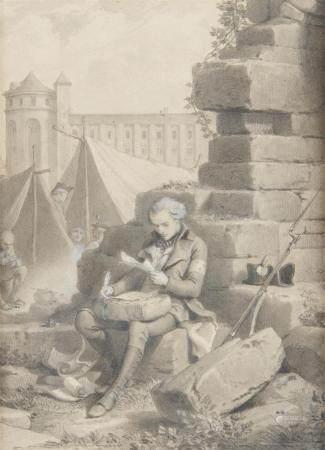 Ecole du XIXème siècle Projet d'illustration pour les Mémoires d'Outretombe, de [...]